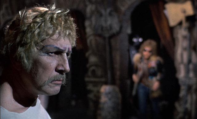Vincent Price as Edward Lionheart in Douglas Hickox's Shakespearean horror-comedy, Theatre of Blood (1973)