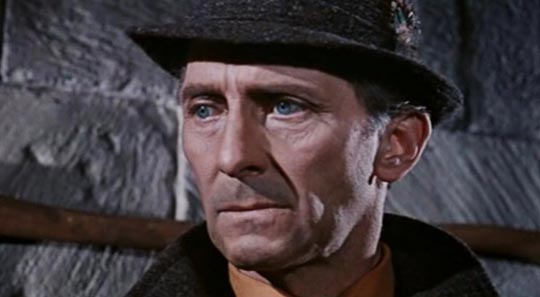 The inimitable Peter Cushing