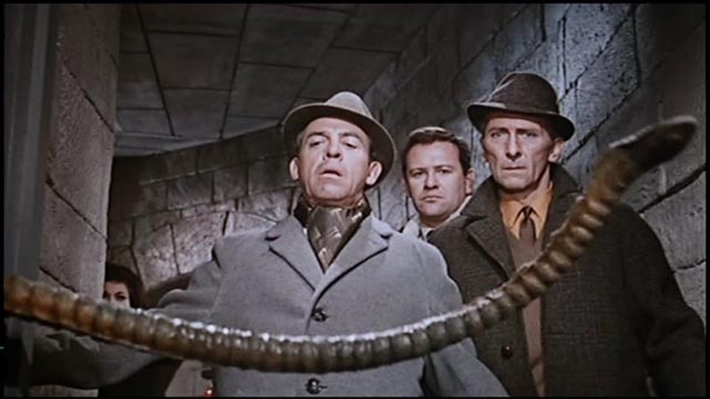 Something nasty in the basement: Peter Cushing and friends meet a silicate in Terence Fisher's Island of Terror (1966)