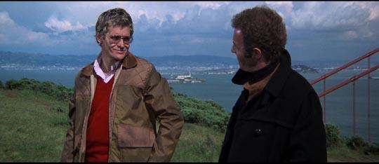 Caan with Peckinpah favourite Bo Hopkins