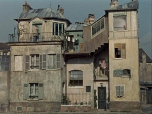 M. Hulot's apartment ... and his sister's house