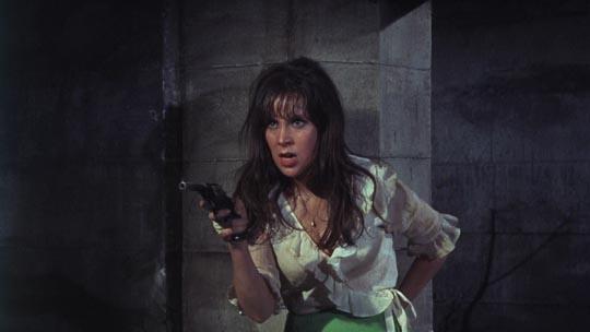 Jane Merrow dealing with the heat