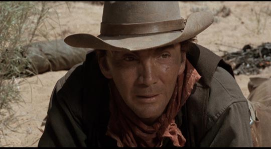 Cameron Mitchell as Vern ... and Harry Dean Stanton as Blind Dick