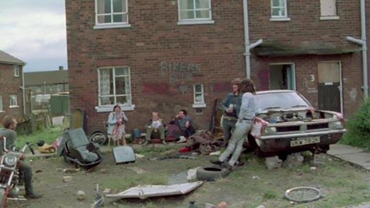 Rita's home on the decaying housing estate