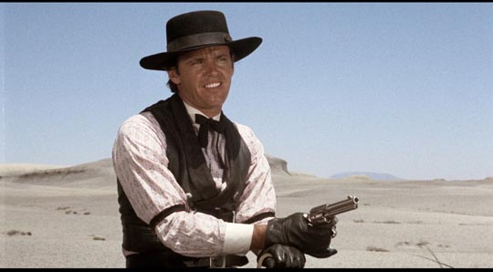 Jack Nicholson as Billy Spear ... and as cowhand Wes