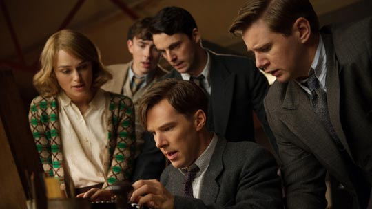 Turing and his team crack the Enigma code