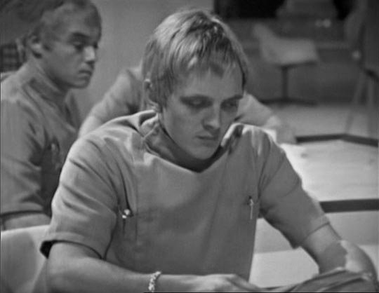 A young David Hemmings in Out of the Unknown