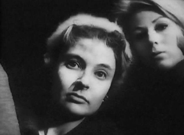 Woen are to be feared in John Krish's modest sci-fi/horror Unearthly Stranger (1963)