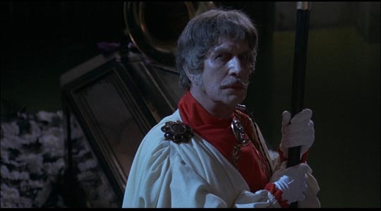 Dr Phibes, revived for a weak sequel