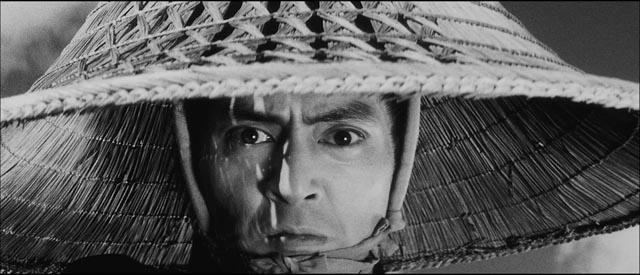 The face of madness: Tatsuya Nakadai as Ryunosuke in Kihachi Okamoto's The Sword of Doom (1966)