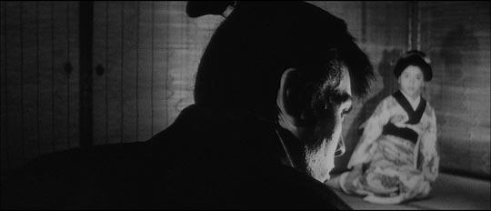 Ryunosuke merging with darkness