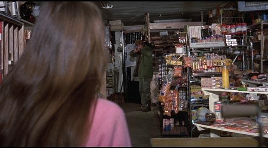Ezra takes aim at Sally (Pat Orr)