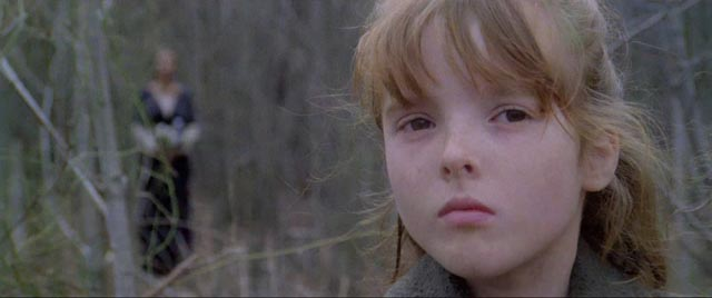 Silvia Collatina as the ghostly Mae in Lucio Fulci's The House By the Cemetery (1981)
