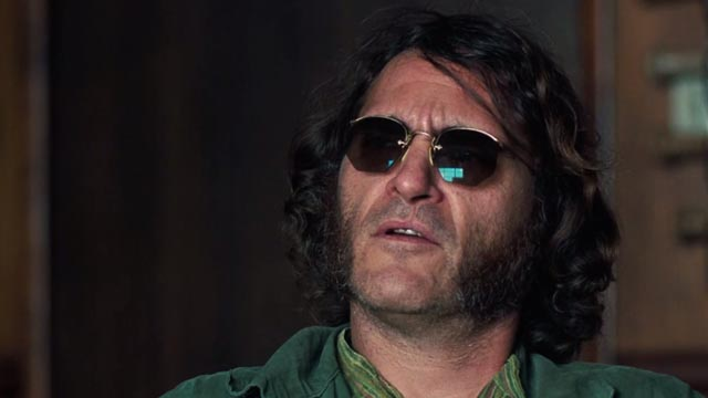 "Joaquin Phoenix as Larry ""Doc"" Sportello in P.T. Anderson's adaptation of Inherent Vice"
