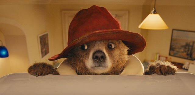 """Paddington, recently arrived from """"darkest"""" Peru and perplexed by the modern conveniences of London"""