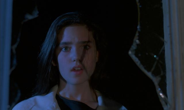 Jennifer Connelly as a girl gifted with psychic powers in Argento's Phenomena (1985)