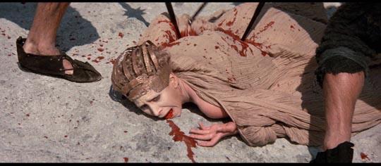 The assassination of Caesar