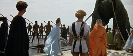 The shipboard wedding of Encolpius to Lica