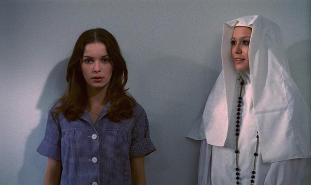 Anicée Alvina as Alice, incercerated with nuns in Successive Slidings of Pleasure (1974)