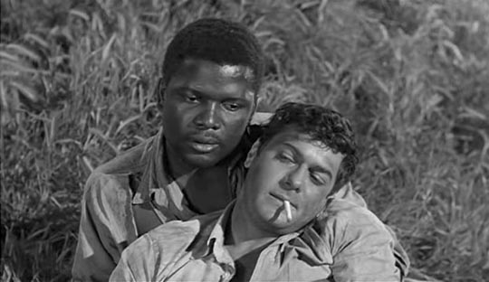 The Defiant Ones: Sidney Poitier sacrifices himself for his new racist friend