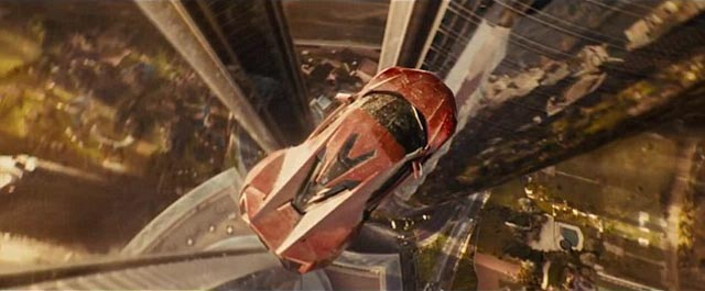 If cars could fly ... going over the top in Furious 7