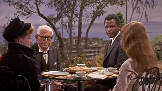 Guess Who's Coming to Dinner: Sidney Poitier promises to live far from his in-laws' social circle