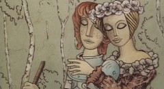 Karel Zeman's storybook style applied to the The Tale of John and Mary (1980)