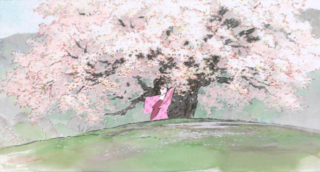 The exquisite imagery of Isao Takahata's masterpiece, The Tale of the Princess Kaguya (2013)
