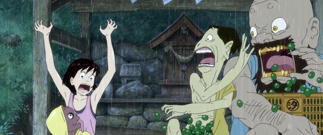 The guardian yokai create problems for Momo
