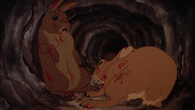 These are definitely not Disney's bunnies: Martin Rosen's adaptation of Watership Down (1978)
