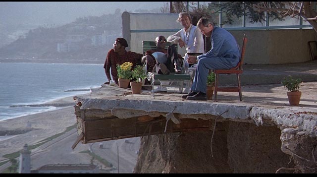 An example of Robert Culp's excellent directorial eye: location as metaphor