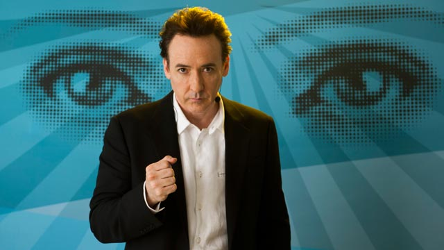 John Cusack as egotistical self-help guru Stafford Weiss