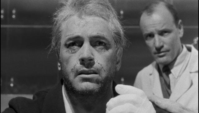 Arthur Hamilton confronts his new identity as Antiochus Wilson (Rock Hudson) in John Frankenheimer's Seconds (1966)