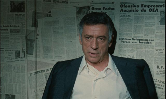 Philip Michael Santore (Yves Montand) being confronted with his crimes