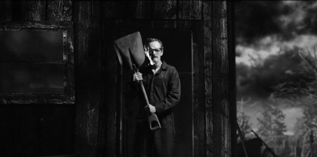 Stephen McHattie as the gravedigger in John Geddes' Hellmouth (2014)
