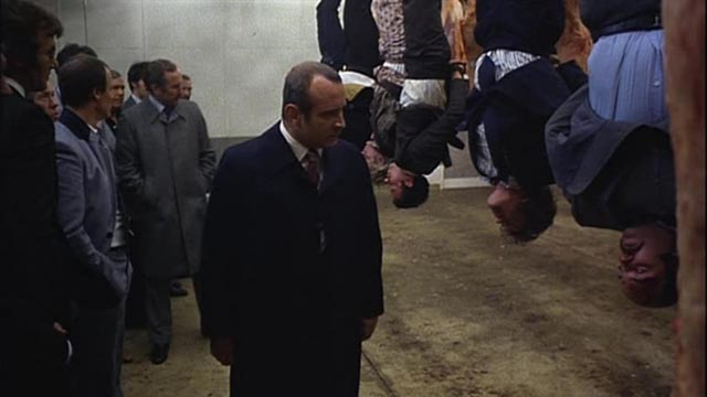 Bob Hoskins treating violence as business in The Long Good Friday