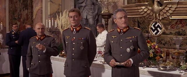 Generals Kahlenberge (Donald Pleasence), Tanz (Peter O'Toole) and von Seidlitz-Gabler (Charles Gray)