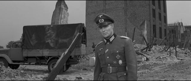 Marlon Brando as Diestl, the impossibly naive German soldier in Edward Dmytryk's The Young Lions (1958)