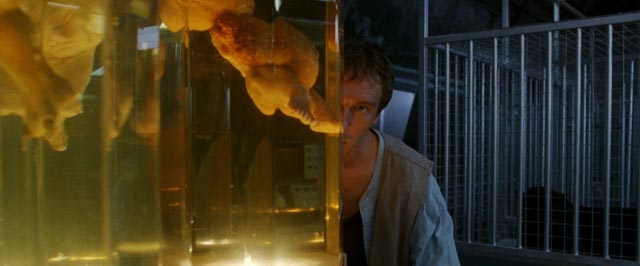 David Thewlis as Edward Douglas discovers the doctor's sinister experiments