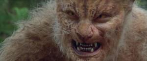 One of the beast-men: a Stan Winston Studios prosthetic make-up design