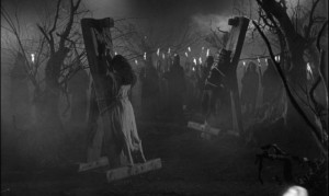 Gothic cruelty in the opening scene of Black Sunday (1960)