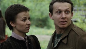 Witek (Boguslaw Linda) with first love Czuszka (Boguslawa Pawelec) in Blind Chance (1981)