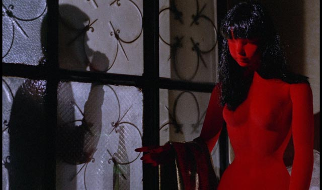 Bava established the expressionist use of colour which so often defines the giallo: Blood and Black Lace (1964)