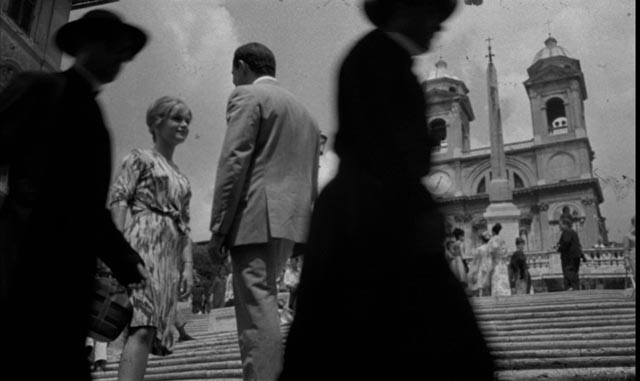 Unusual for Bava, key scenes in The Girl Who Knew Too Much take place in real locations