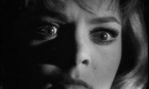Eyes are a key element in the giallo, a genre in which the unreliability of seeing is an essential theme: Mario Bava's The Girl Who Knew Too Much (1963)