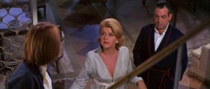 Tippy Walker with screen parents Angela Lansbury and Tom Bosley