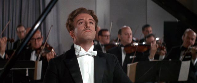 Peter Sellers as the (bad) avant garde pianist Henry Orient in The World of Henry Orient