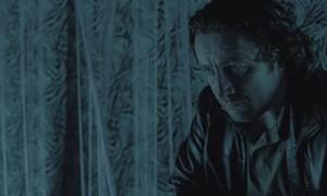 Peter Ferdinando as a depressed, drug addicted cop in Hyena (2014)