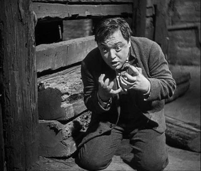 Peter Lorre as the child murderer Hans Beckert in Fritz Lang's M (1931)