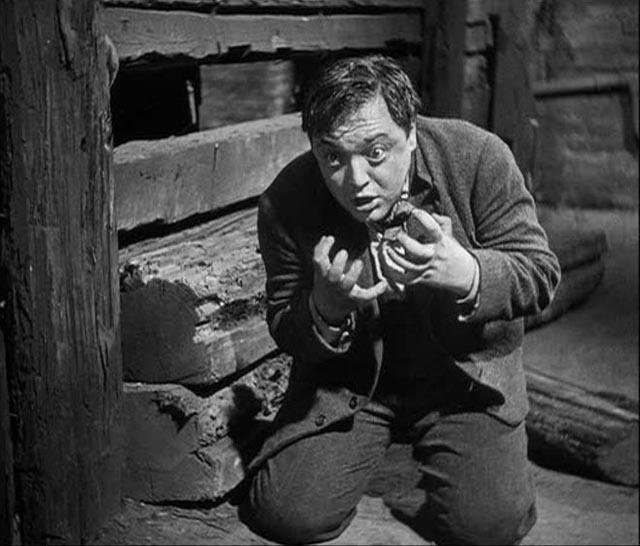 Peter Lorre as the child murderer Hans Beckert in Fritz Lang's M (1931)